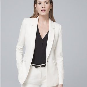 NWT WHBM LUXE SUITING JACKET